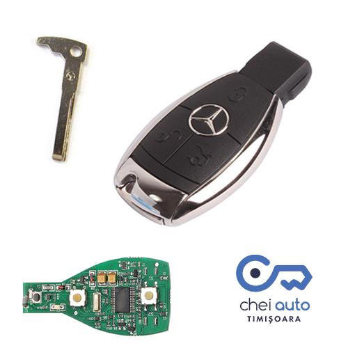 chei auto Mercedes, Deblocari auto Mercedes, Programare cip chei Mercedes,