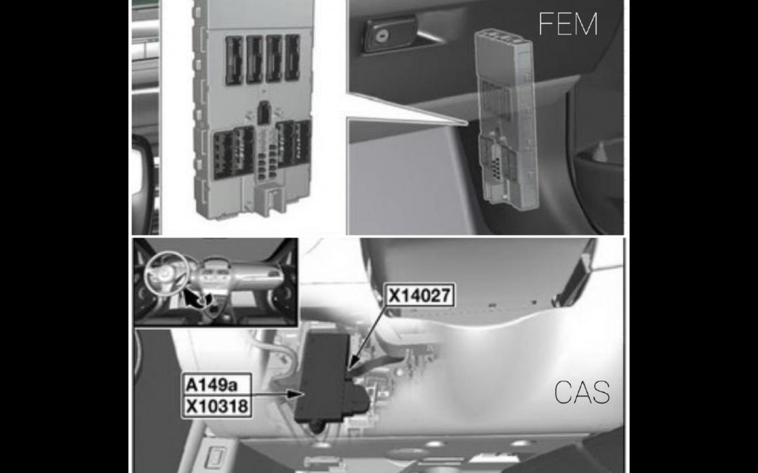Sistem CAS/FEM BMW